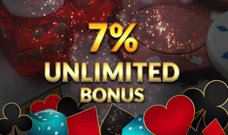 Unlimited Deposit Bonus