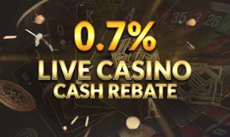 Live Casino Cash Rebate