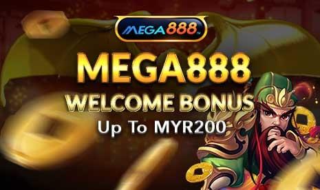 Mega888 Welcome Bonus